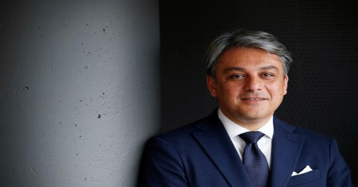 FILE PHOTO: SEAT President and CEO Luca de Meo poses during an interview at the SEAT car
