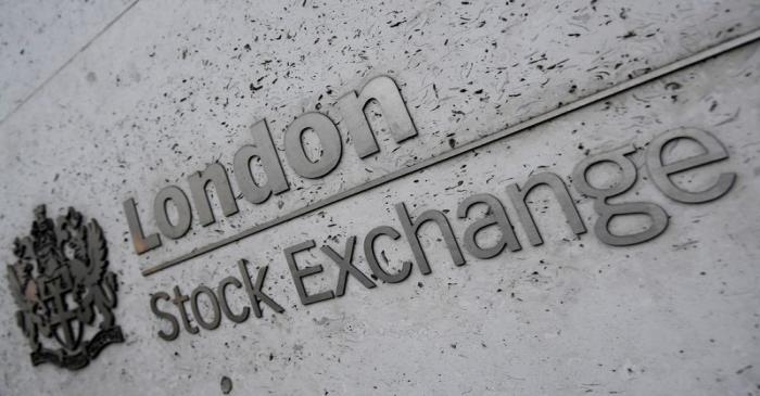 FILE PHOTO: The London Stock Exchange Group offices are seen in the City of London, Britain