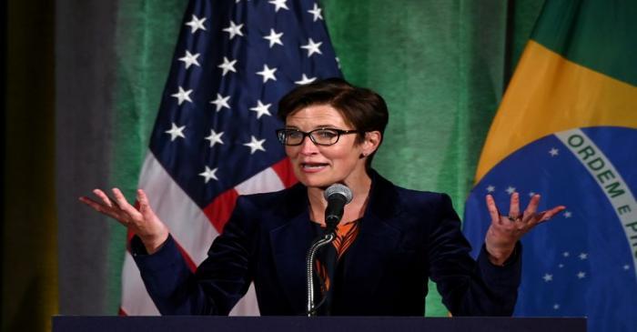 FILE PHOTO: Citigroup Latin America CEO Fraser addresses Brazil-U.S. Business forum
