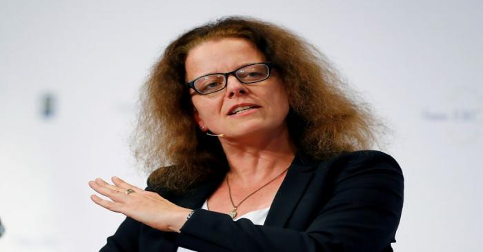FILE PHOTO: Isabel Schnabel attends 29th Frankfurt European Banking Congress (EBC) at the Old