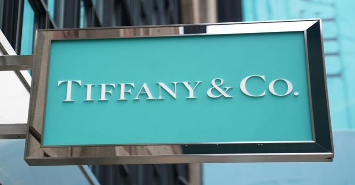 FILE PHOTO: A sign of Tiffany & Co. store is pictured in the Manhattan borough of New York