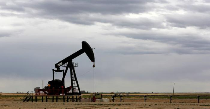 FILE PHOTO: A TORC Oil & Gas pump jack near Granum