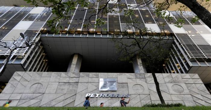 Brazil's state-run Petrobras oil company headquarters is pictured in Rio de Janeiro