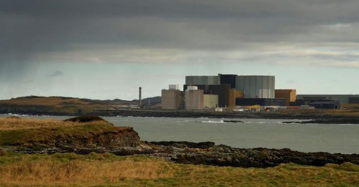 FILE PHOTO: General view of the decommissioned Wylfa nuclear power station on the island of