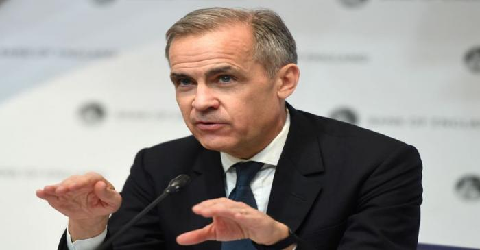 FILE PHOTO: Mark Carney, Governor of the Bank of England (BOE) attends a news conference at