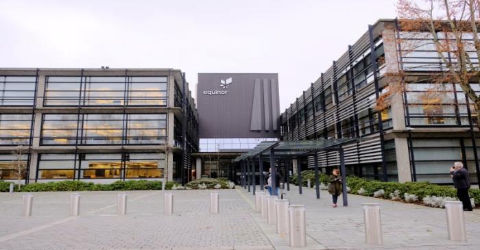 Equinor's headquarters are pictured in Stavanger