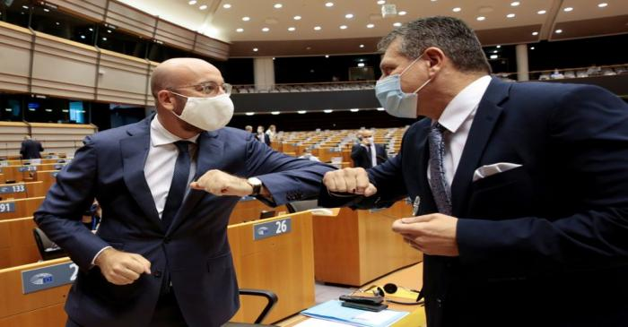 European Paliament plenary session in Brussels