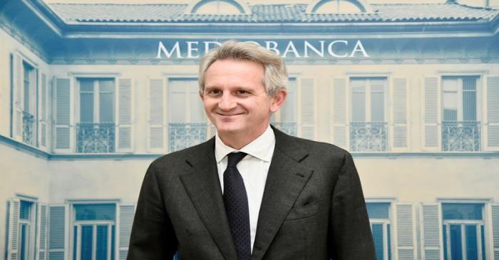 FILE PHOTO: Italy's Mediobanca CEO Alberto Nagel presents a new business plan