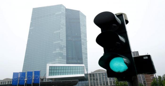 FILE PHOTO: ECB headquarters in Frankfurt