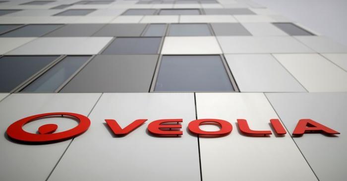 FILE PHOTO: Logo of Veolia
