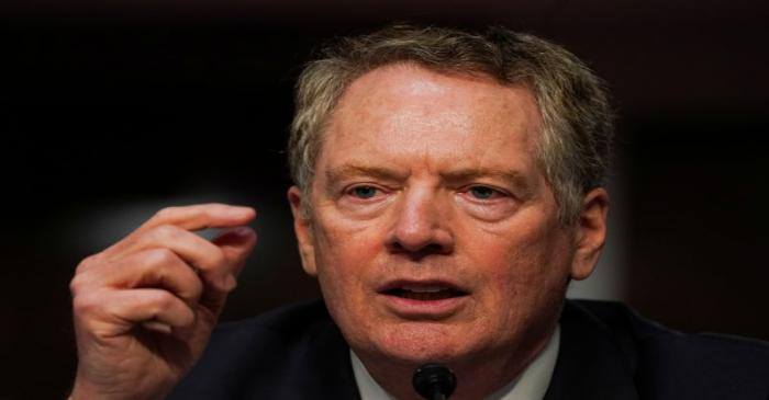 Senate Finance Committee hearing on U.S. trade on Capitol Hill in Washington