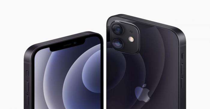 Apple's iPhone 12 and iPhone 12 are seen in an illustration released in Cupertino