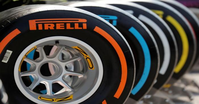 FILE PHOTO: General view of Pirelli tyres