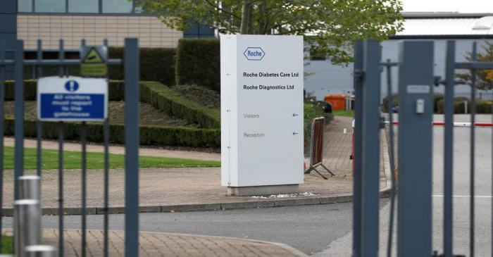 A diagnostics site for Swiss pharmaceutical giant Roche is seen as the company said problems at