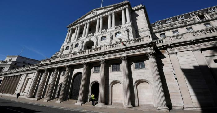 FILE PHOTO: The Bank of England in London, Britain