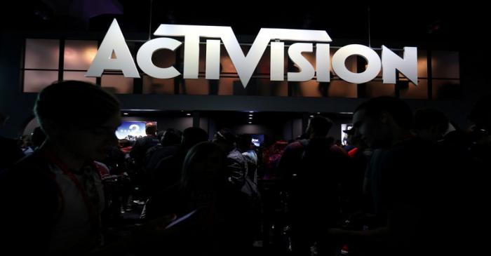 FILE PHOTO: The Activision booth is shown at the E3 2017 Electronic Entertainment Expo in Los