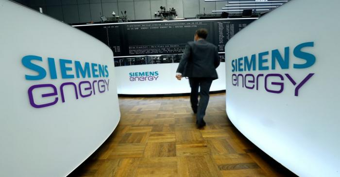 FILE PHOTO: Siemens Energy AG starts trading after IPO