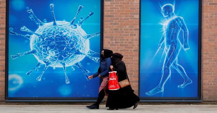 FILE PHOTO: The coronavirus disease (COVID-19) outbreak in Oldham