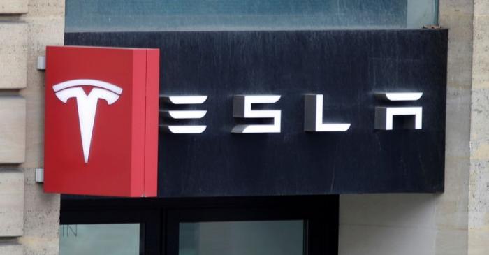 Logo of Tesla