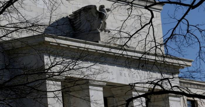FILE PHOTO: FILE PHOTO: Federal Reserve Board building on Constitution Avenue is pictured in