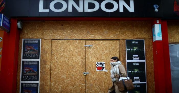 FILE PHOTO: Outbreak of the coronavirus disease (COVID-19) in London