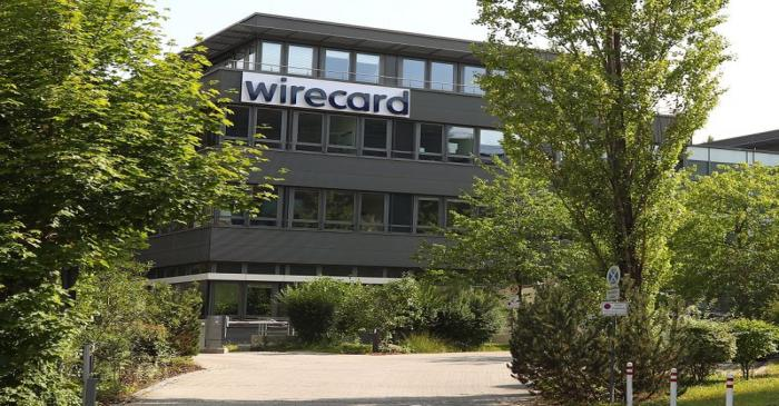 The headquarters of Wirecard AG, an independent provider of outsourcing and white label