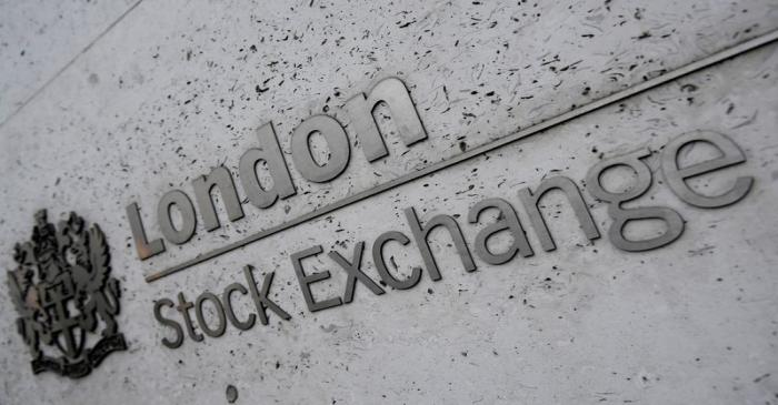 FILE PHOTO: FILE PHOTO: The London Stock Exchange Group offices are seen in the City of London,