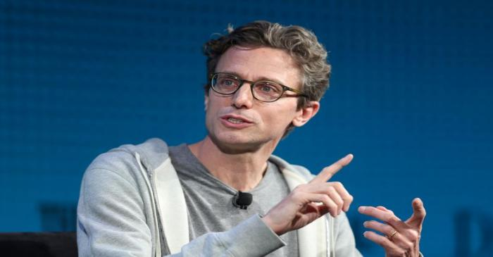 FILE PHOTO: Jonah Peretti, Founder and CEO, Buzzfeed, speaks at the Wall Street Journal Digital