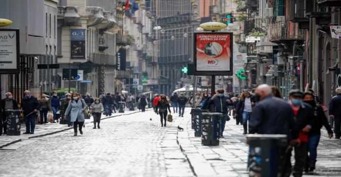 The outbreak of the coronavirus disease (COVID-19), in Naples