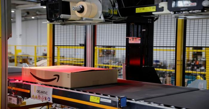 A look inside France Amazon's expanding operations