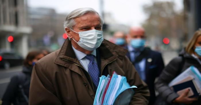 EU chief Brexit negotiator Barnier in London