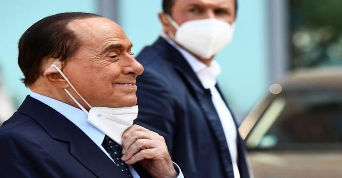 FILE PHOTO: Former Italian Prime Minister Silvio Berlusconi is discharged from Milan's San