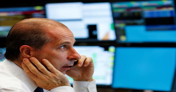 Frankfurt's stock exchange last trading session of the year