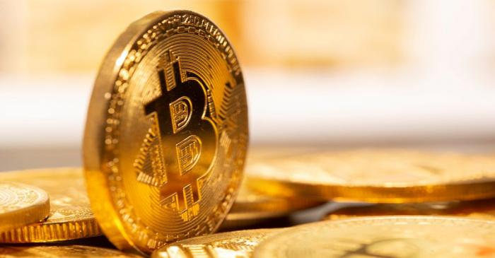 FILE PHOTO: A representation of virtual currency Bitcoin