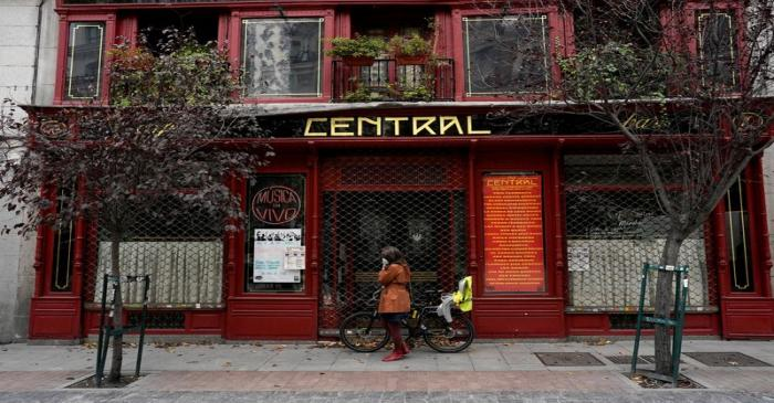 FILE PHOTO: The coronavirus disease (COVID-19) outbreak in Madrid