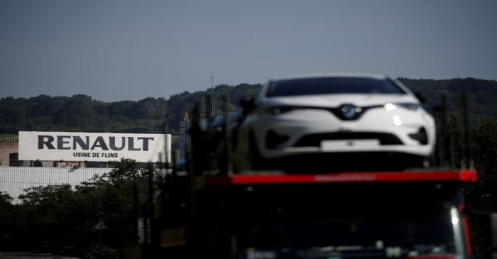 FILE PHOTO: The Flins plant of French carmaker Renault