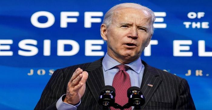 FILE PHOTO: U.S. President-elect Joe Biden announces economics and jobs team nominees at