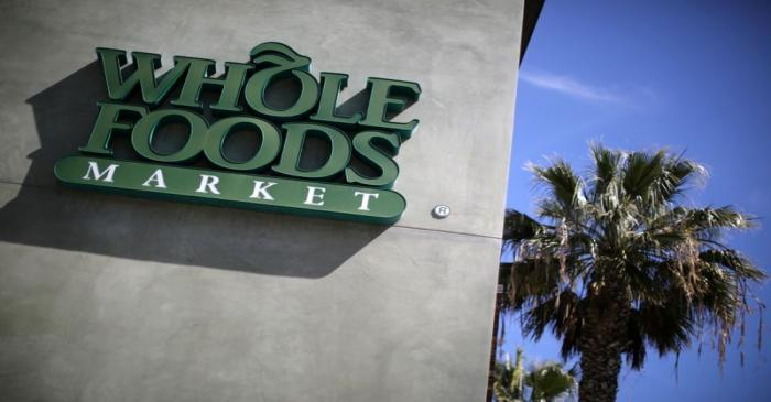 FILE PHOTO: A Whole Foods Market store is seen in Santa Monica