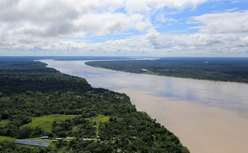 FILE PHOTO: The Amazon river