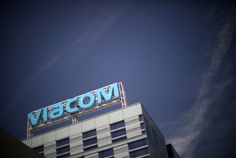 FILE PHOTO: The Viacom office is seen in Hollywood, Los Angeles