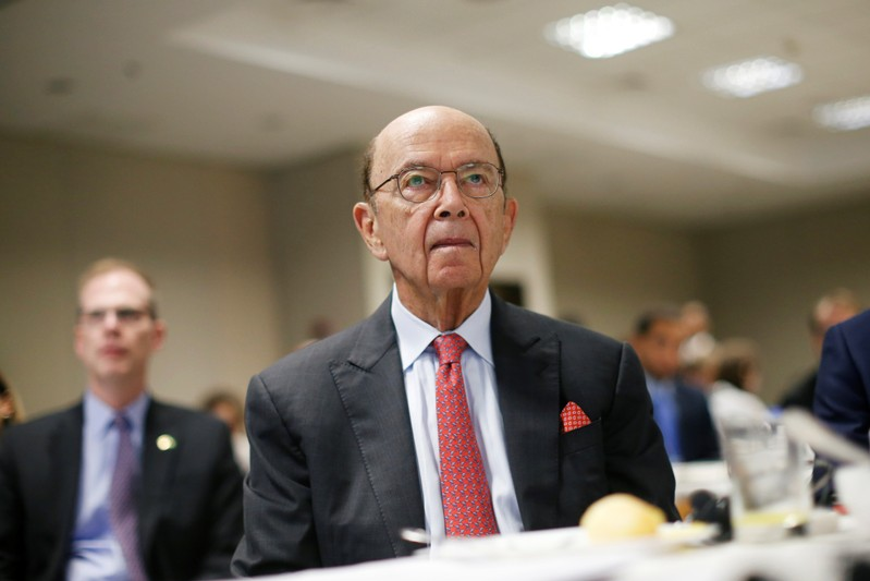 U.S. Commerce Secretary Wilbur Ross looks on during a 17th Latin American Leadership Forum in