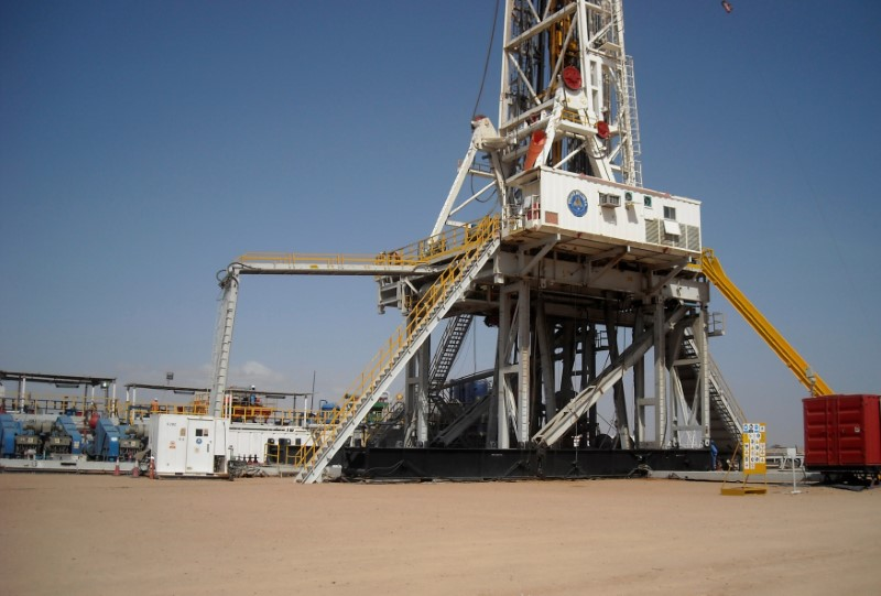 FILE PHOTO: A general view shows the Paipai-1 drill site in Turkana, northern Kenya