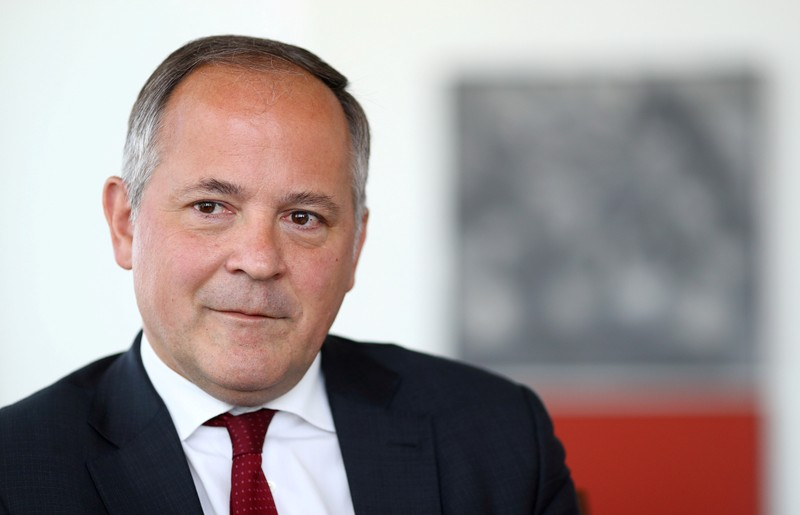 FILE PHOTO: Benoit Coeure, board member of the European Central Bank (ECB), is photographed