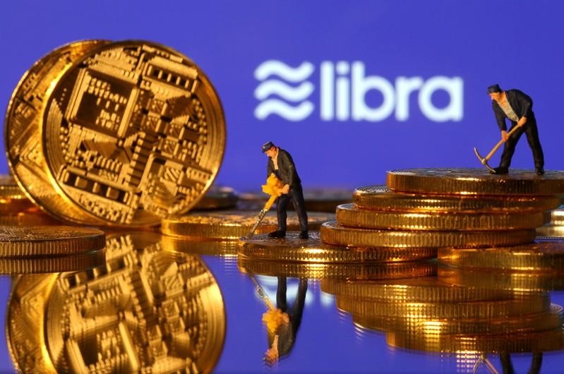 FILE PHOTO: Libra logo in illustration picture