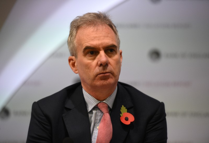 FILE PHOTO: Bank of England Deputy Governor Ben Broadbent attends a Bank of England news
