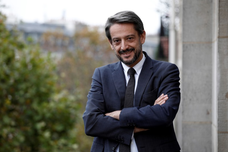 Jean-Louis Girodolle, CEO of Lazard Investment Banking in France poses for a portrait at Lazard