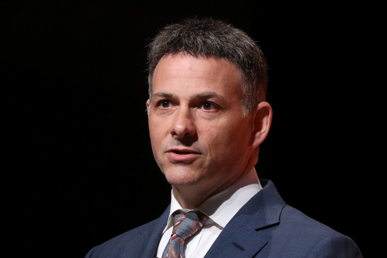 David Einhorn,ÊPresident, Greenlight Capital, Inc. speaks during the 2019 Sohn Investment