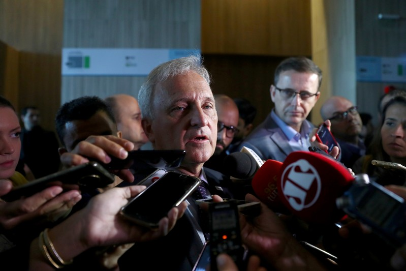 FILE PHOTO: Brazil's government hold the pre-salt offshore oil auction in Rio de Janeiro
