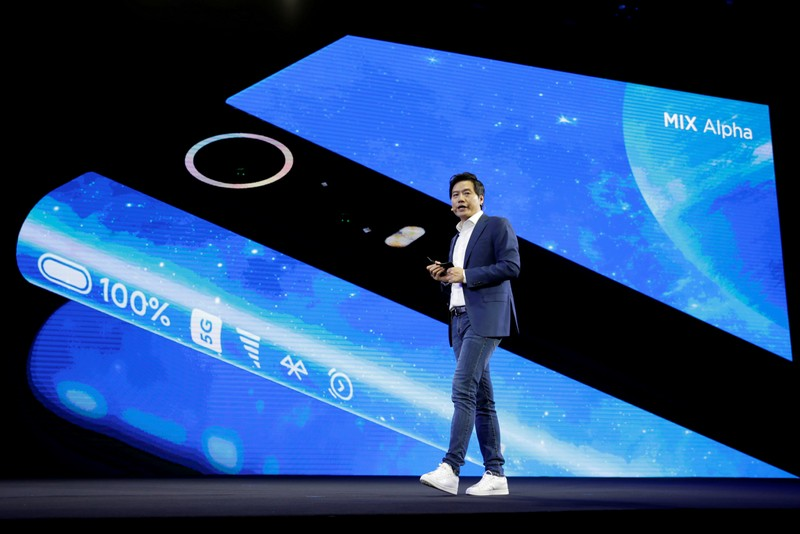 FILE PHOTO: Xiaomi founder and CEO Lei Jun attends a product launch event of Xiaomi Mi MIX