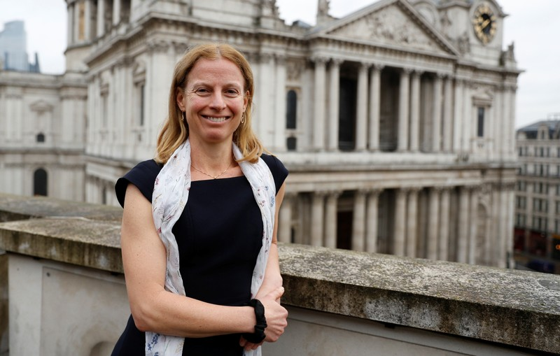 Natasha Landell-Mills, head of stewardship at Sarasin & Partners, poses for a photograph at